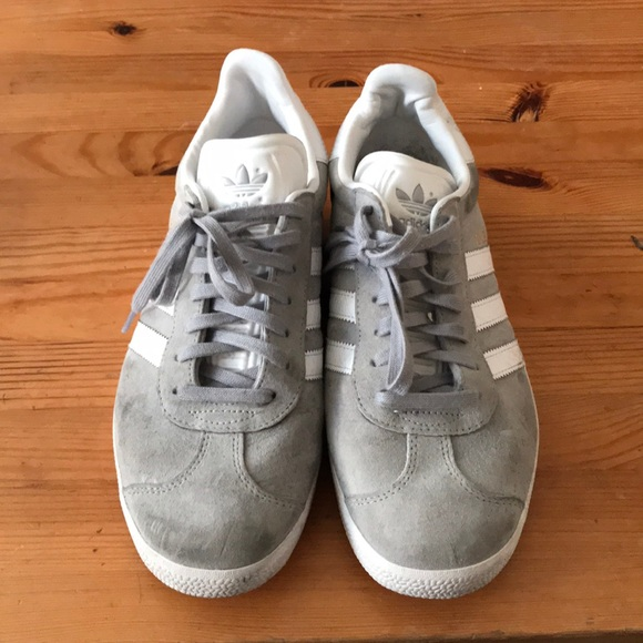 adidas Shoes | Grey Gazelle Sneakers